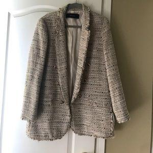 Zara Tweed Blazer/Jacket
